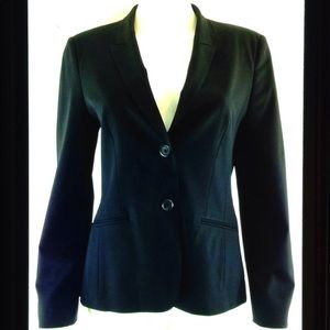 Hugo Boss Jannami2 Virgin Wool Lined Suit Blazer